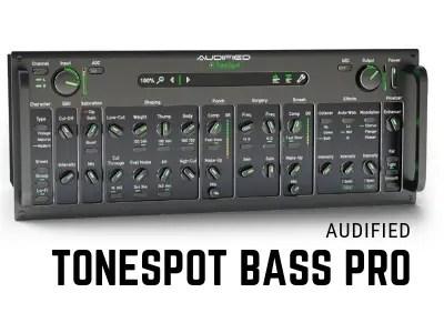 audified bass guitar plugin