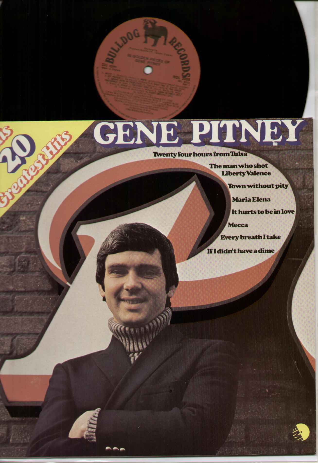 Gene Pitney 20 Greatest Hits Records Lps Vinyl And Cds