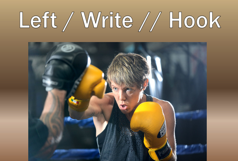 Donna Lyon Left Write Hook