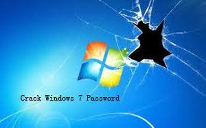 crack windows 7 password