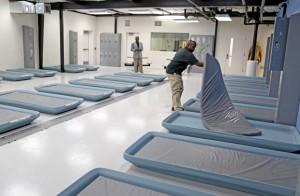 interior photo of sobering center