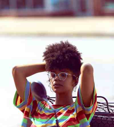 """Watercolor Painting Sad Face;  image used in """"How to stop believing you're not good enough."""""""