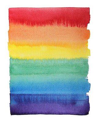 watercolor pride