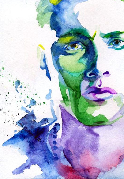 man-watercolor