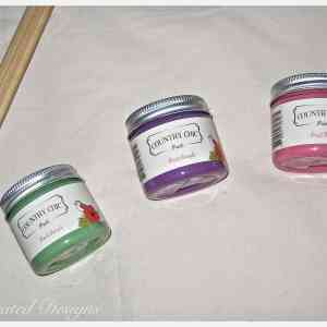 paint samples of Country Chic Paint