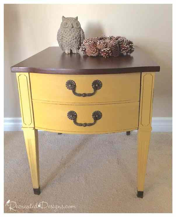 miss_mustard_seed_yellow_sidetable
