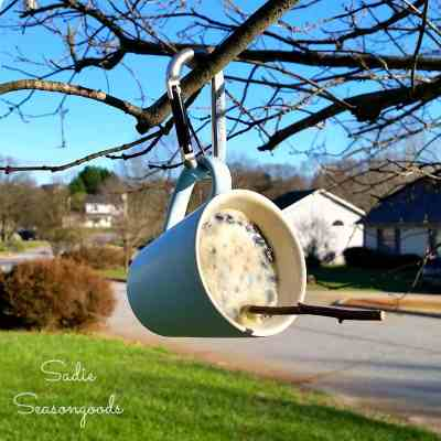 6_Thrift_store_coffee_mugs_at_Goodwill_for_repurposed_bird_suet_feeders_by_Sadie_Seasongoods