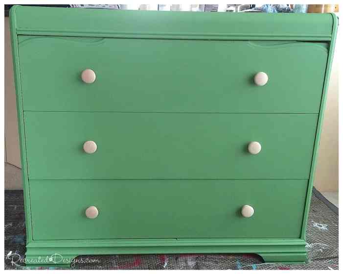 Country Chic Paint in Rustic Charm on an antique dresser