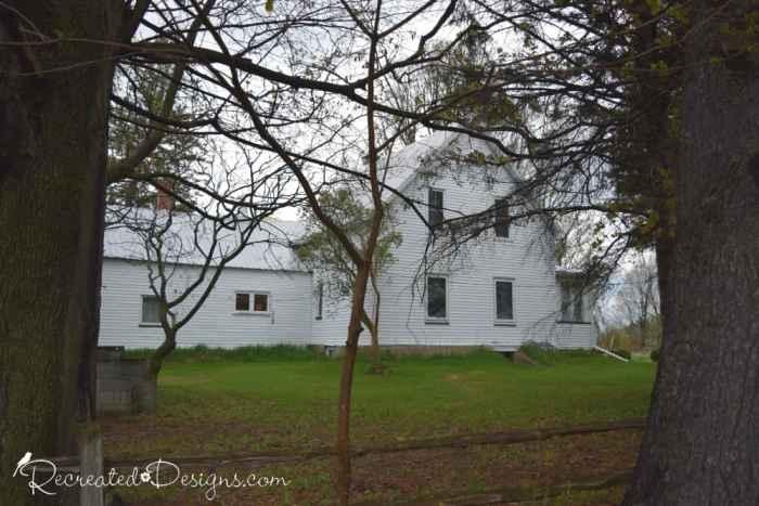 the Orr homestead on farm land, Hemmingford, Quebec