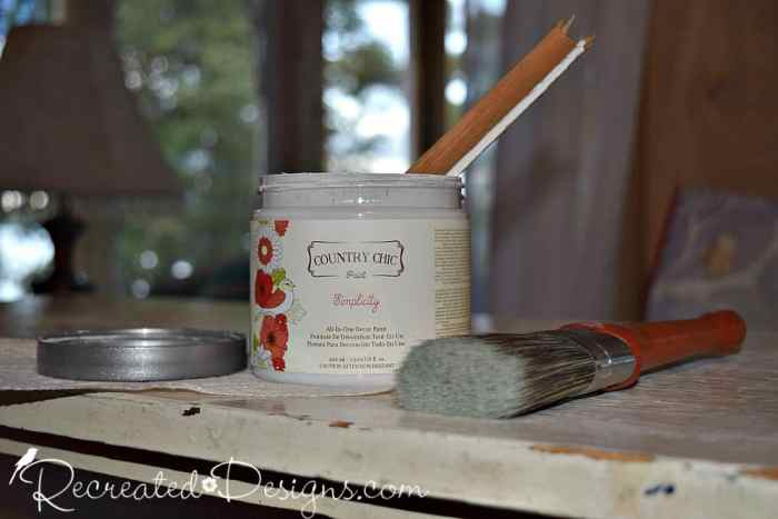 Country Chic Paint in Simplicity