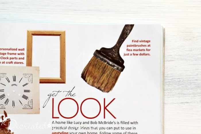 vintage finds in Matthew Mead Upstyled Home magazine