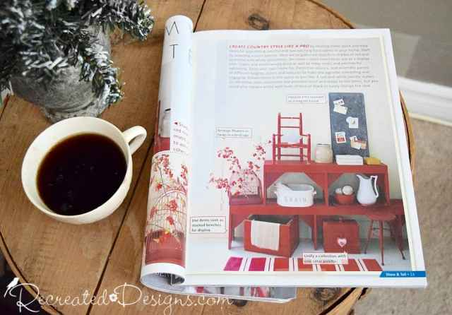 inside Upstyled Home magazine by Matthew Mead