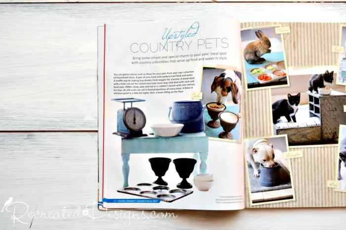 Matthew Mead Upstyled Home magazine