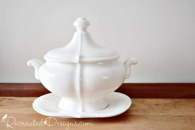 Japanese Ironstone Soup Tureen
