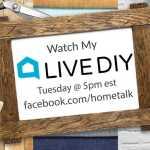 Hometalk and Recreated Designs Facebook Live