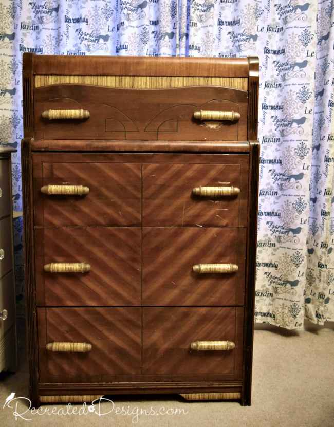 water fall dresser found for free
