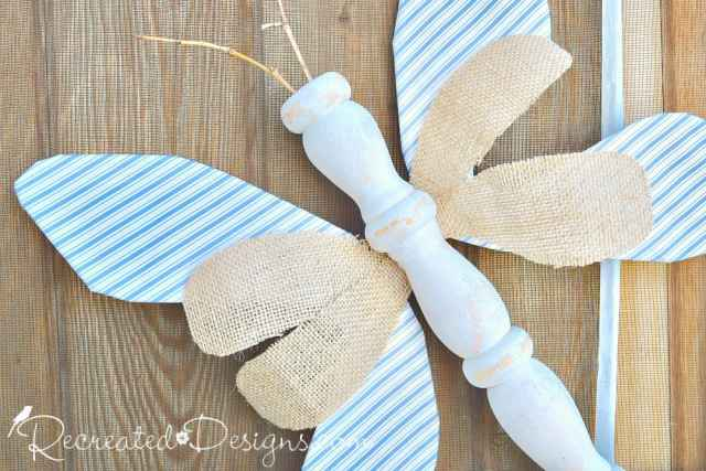 an upcycled, rustic bug for summer