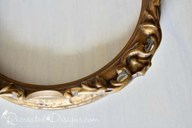 old ornate gold frame