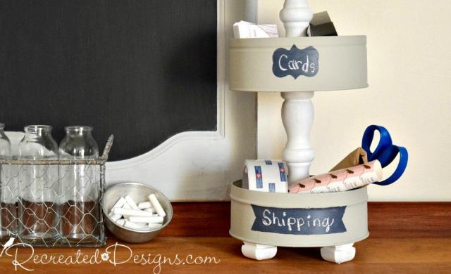 get organized with a tiered stand