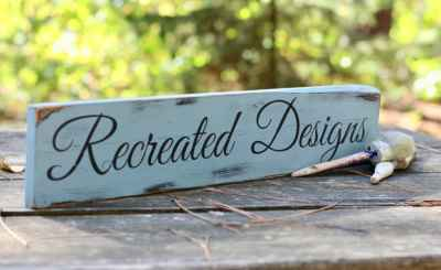Recreated Designs blog
