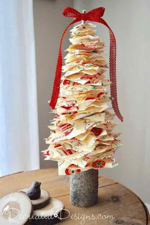 Scandinavian inspired paper tree