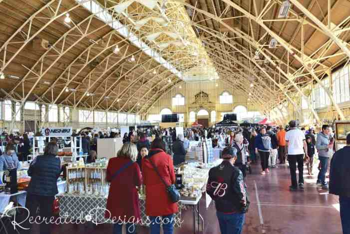 the 613 flea at the Aberdeen Pavilion Lansdowne in Ottawa Canada