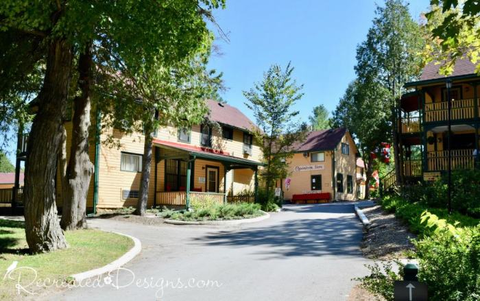 The Opinicon resort and hotel, travel eastern Ontario Canada