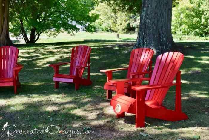 sitting on the banks of Opinicon Lake Elgin Ontario