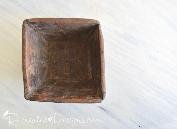 antique berry bowl