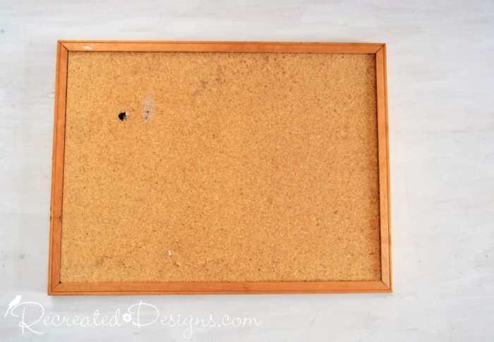 old cork board