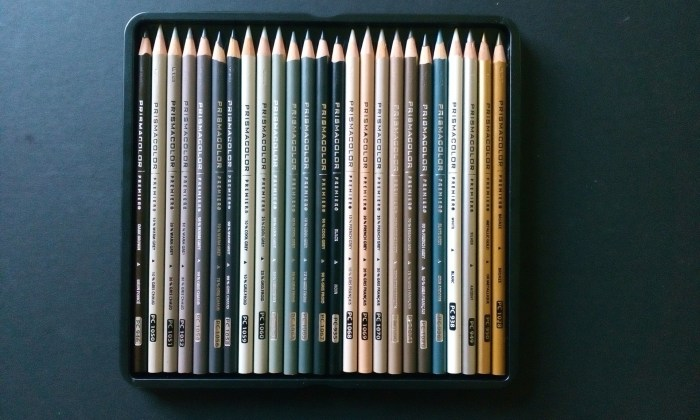 neutral pencil colours