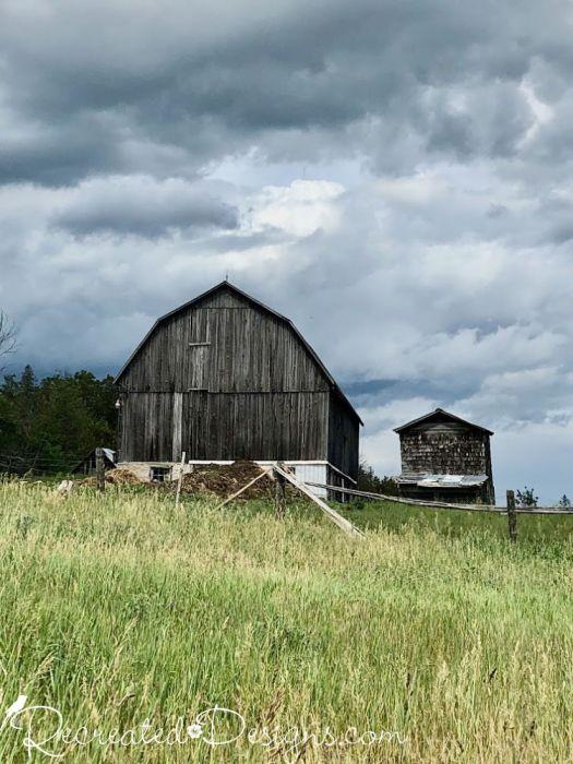 old barns in Eastern Ontario