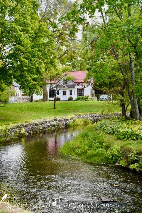 old house near park