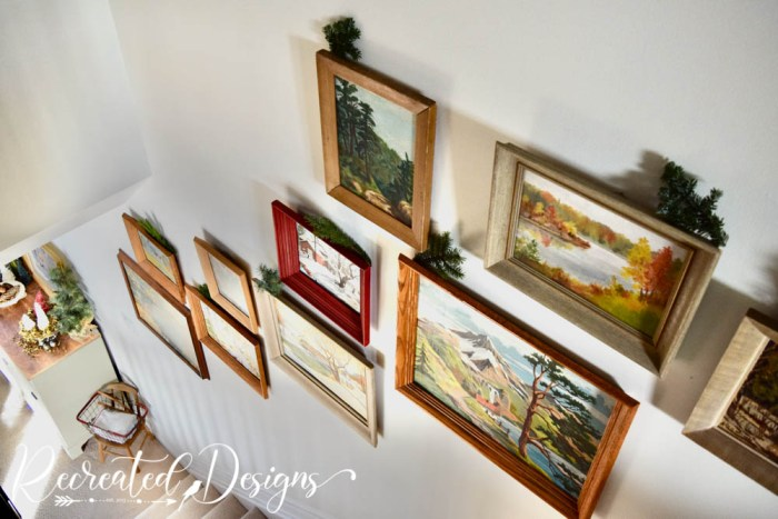 vintage art and paint by numbers