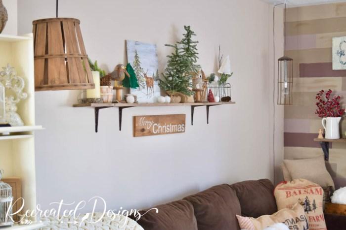 natural decor holiday house