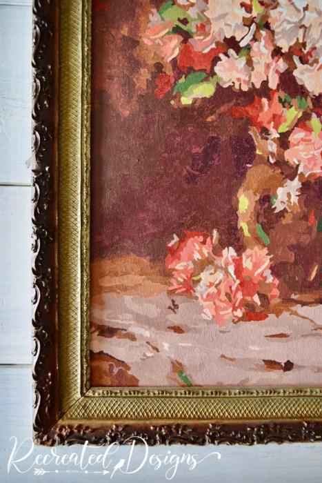 old frame new art