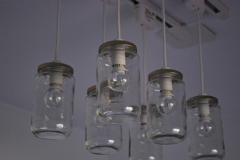 Il lampadario del bagno recreathing - Vasetti vetro ikea ...