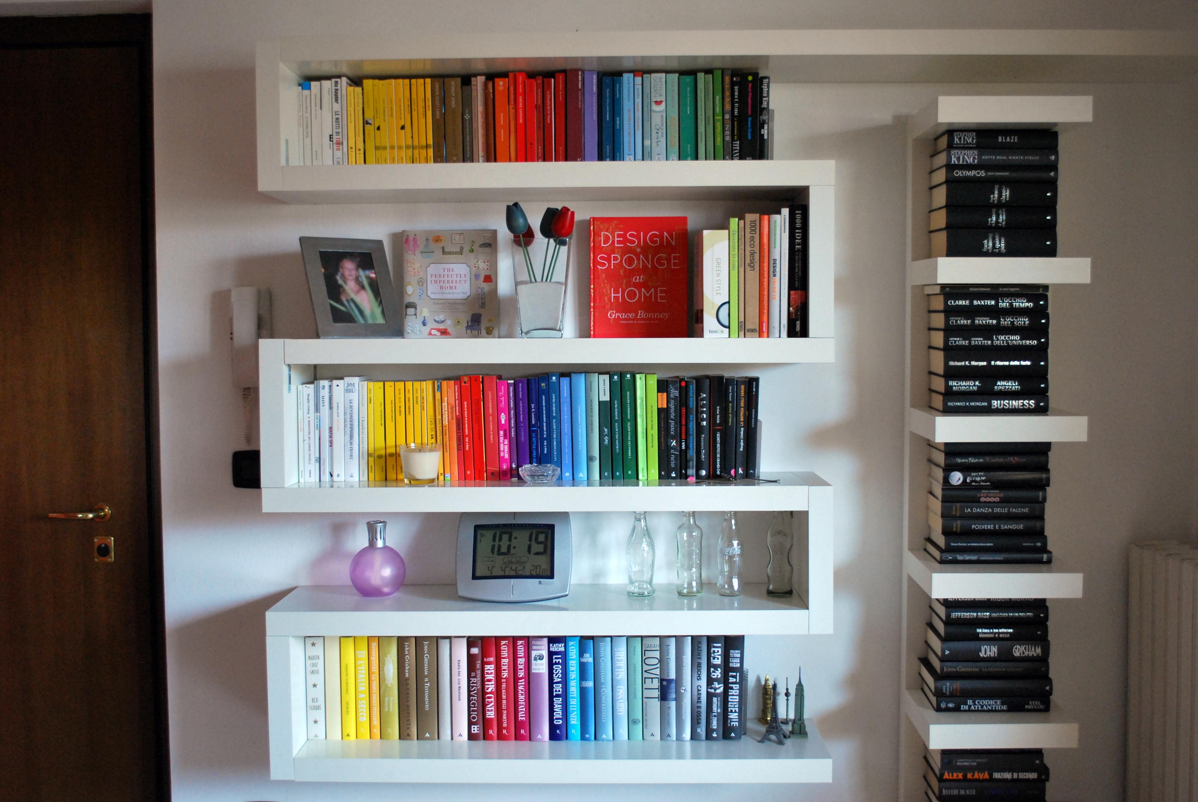 Libreria a zig zag recreathing for Libreria arredamento ikea