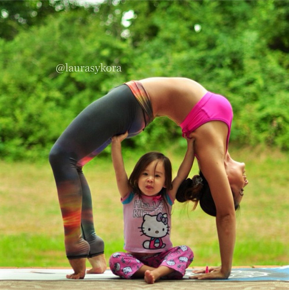 Funny Yoga Poses 2 People