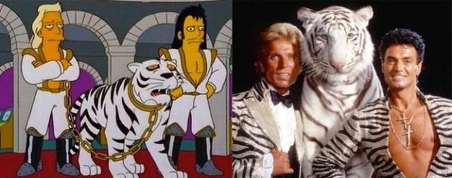 Los Simpsons: El ataque del tigre blanco