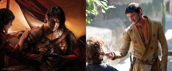 Personajes De Game Of Thrones De Libros Vs Los De Tv