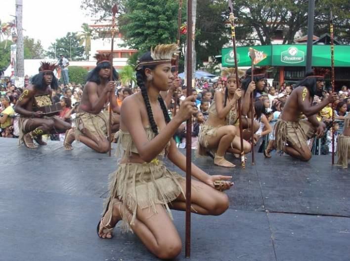 Desfile cuevas de los indios en República Dominicana
