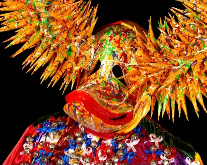 Las máscaras de diablos cojuelos son principales personajes en el Carnaval Dominicano