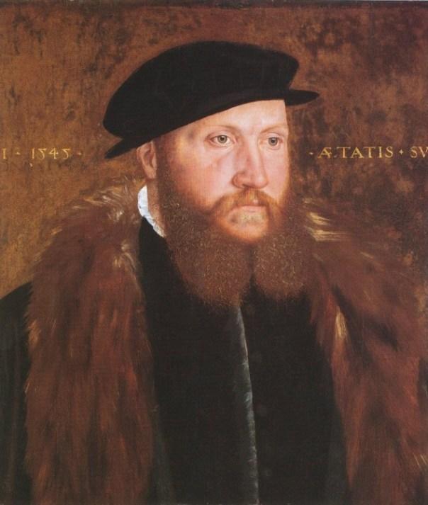 hombre de la Edad Media con sombrero