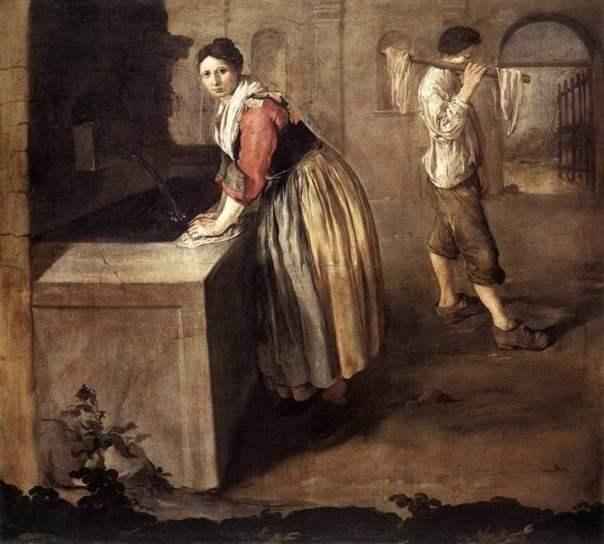 las lavanderas lavaban con orina SUS ROPAS párrafo quitar manchas y Grasa