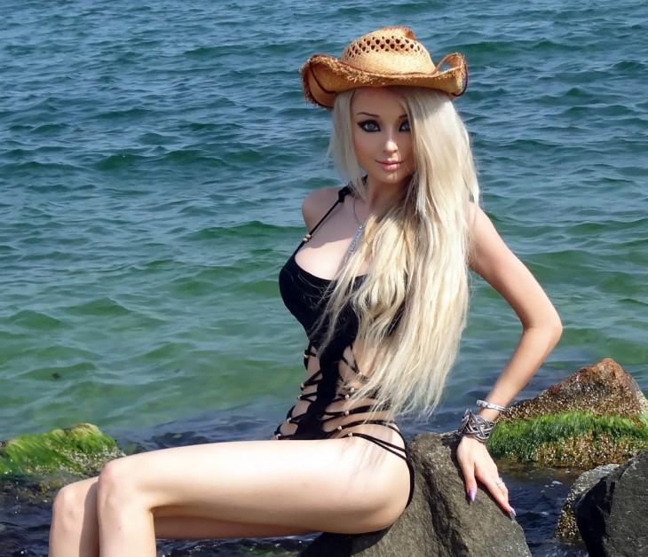 Valeria Lukyanova es conocida como la barbie humana