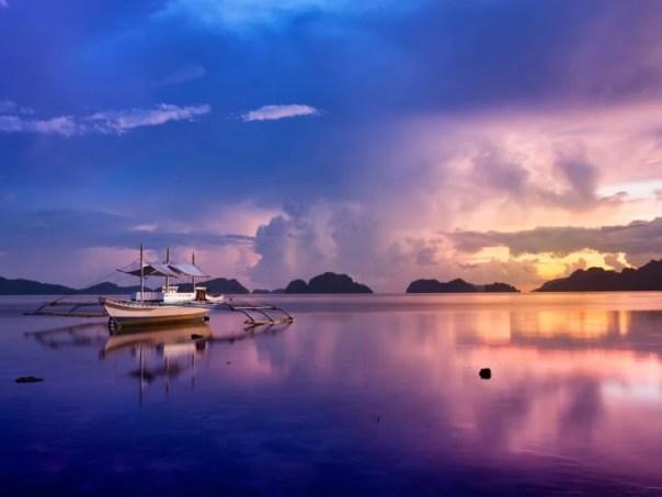 Isla Palawan en las Filipinas