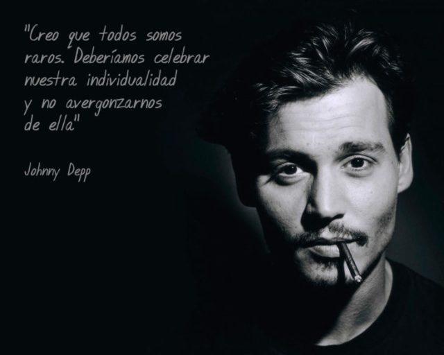 Frases Johnny Depp, individualidad