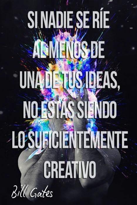 frase de Bill Gates sobre creatividad