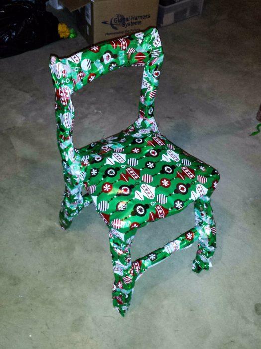 silla de regalo